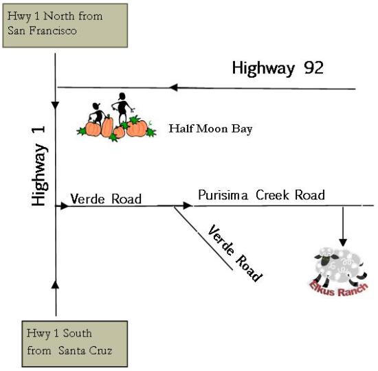 Elkus Directions Map