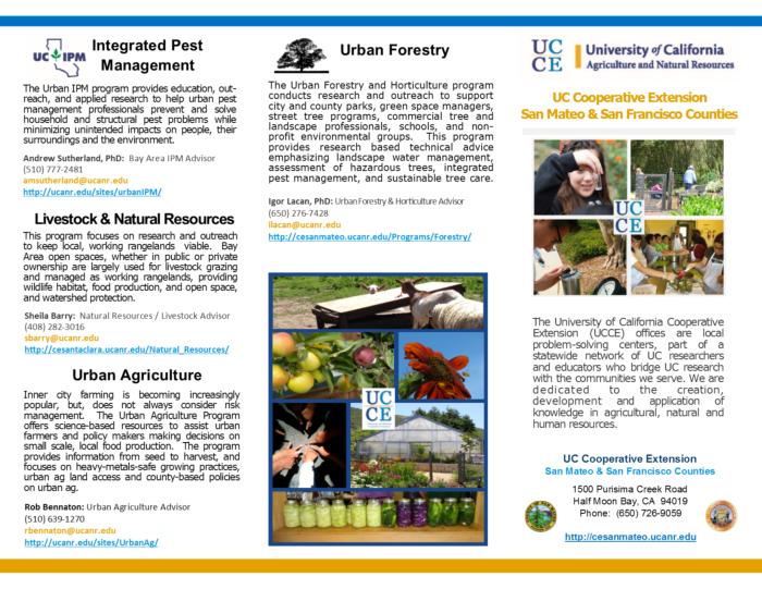 UCCE tri-fold brochure P1
